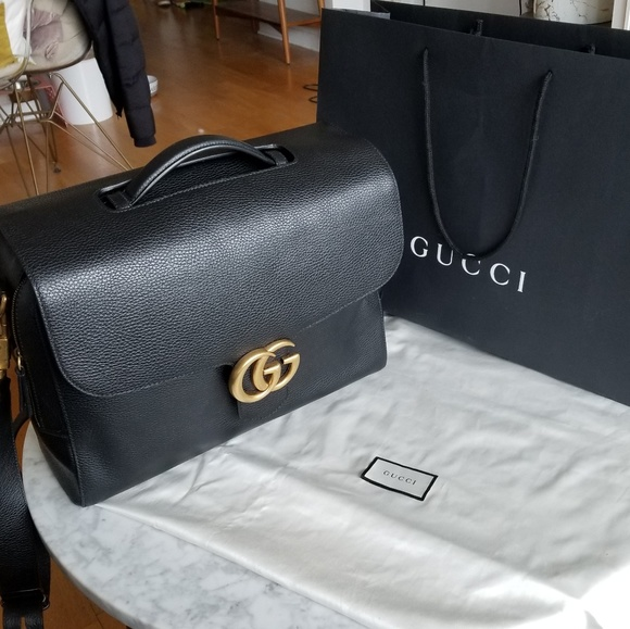 2864daced6bc Gucci Handbags - *SALE* Like new Gucci Marmont briefcase/travel bag
